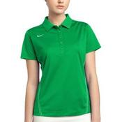 Golf Ladies Dri FIT Sport Swoosh Pique Polo