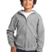Youth Heavy Blend ™ Full Zip Hooded Sweatshirt