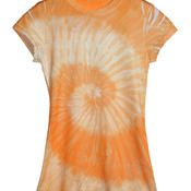 Tie-Dye Juniors' Sublimation-Dyed Tee
