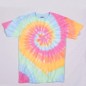 Gildan Tie-Dye Youth Multi-Spiral Tee