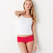 + Canvas Ladies' Cotton Spandex Shortie