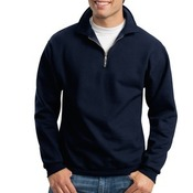 Super Sweats 1/4 Zip Sweatshirt with Cadet Collar