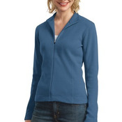Port Authority® - Ladies Flatback Rib Full-Zip Jacket. L221
