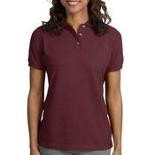 Port Authority® - Ladies Pique Knit Polo. L420