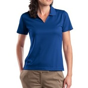 Sport-Tek® - Ladies Dri-Mesh® V-Neck Polo. L469