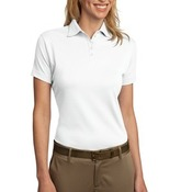 Port Authority® - Ladies Pima Select Polo with PimaCool™ Technology. L482