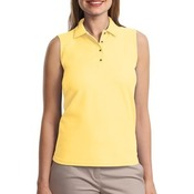 Port Authority® - Ladies Silk Touch™ Sleeveless Polo. L500SVLS