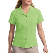 Port Authority® - Ladies Silk Blend Camp Shirt. L533