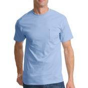 100% Cotton T Shirt with Pocket