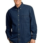 Long Sleeve Value Denim Shirt