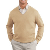 Port Authority® - Fine-Gauge V-Neck Sweater. SW275