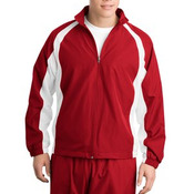 Sport Tek 5 in 1 Performance Full Zip Warm Up Jacket