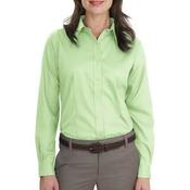 Ladies Long Sleeve Non Iron Twill Shirt