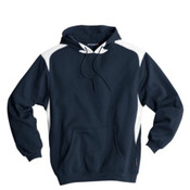 Hooded Sweatshirts Without Zipper (Navy/White F264)(Youth)