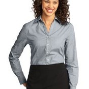 Port Authority® - Ladies Crosshatch Easy Care Shirt. L640