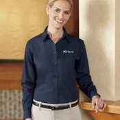 Port Authority® - Ladies Long Sleeve Value Poplin Shirt. L632