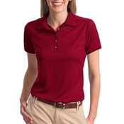 Port Authority® - Ladies Poly-Bamboo Charcoal Birdseye Jacquard Polo. L498