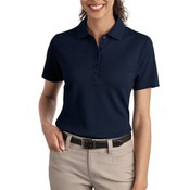 Port Authority® - Ladies Textured Polo with Wicking. L499