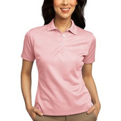 Port Authority® - Ladies Shadow Stripe Interlock Polo. L459