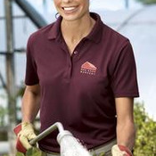 CornerStone® - Ladies Industrial Pocketless Pique Polo. CS403