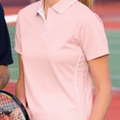 Sport-Tek® - Ladies Dri-Mesh® Polo with Tipped Collar and Piping. L467