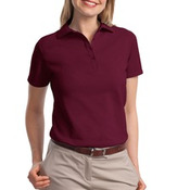 Hanes® ComfortSoft® - Ladies 7-Ounce Pique Knit Sport Shirt. 035X