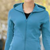 Port Authority® - Ladies Modern Stretch Cotton Full-Zip Jacket. L519