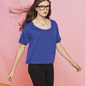 District® - Juniors Modal Blend Boxy Tee DT281