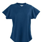 STYLE 571 - LADIES WICKING V-NECK JERSEY