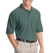 Port Authority® - Cool Mesh™ Polo with Tipping Stripe Trim. K431