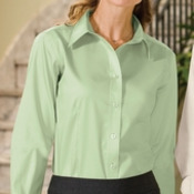 Port Authority® - Ladies Long Sleeve Non-Iron Twill Shirt. L638