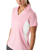 Sport-Tek® - Ladies Side Blocked Micropique Sport-Wick® Polo. LST655