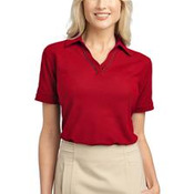 Port Authority® - Ladies Silk Touch™ Piped Polo. L502