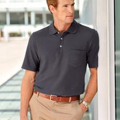 Port Authority® - EZCotton™ Pique Pocket Polo. K800P