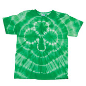 Gildan Tie-Dye Youth Shamrock Tee