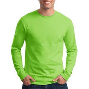 Tagless 100% Cotton Long Sleeve T Shirt