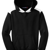 Sport-Tek® Youth Pullover Hooded Sweatshirt with Contrast Color