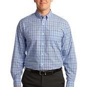 Port Authority®Crosshatch Plaid Easy Care Shirt. S641