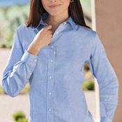 Red House® - Ladies Non-Iron Pinpoint Oxford. RH25