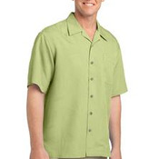 Port Authority® - Patterned Easy Care Camp Shirt. S536