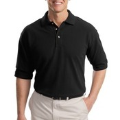 Port Authority® - Tall Pique Knit Polo. TLK420
