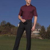 Nike Golf - Elite Series Dri-FIT Vertical Texture Bonded Polo. 429437