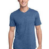 District® - Young Mens Textured Notch Crew Tee. DT172